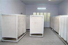 Laminated Leather Drying